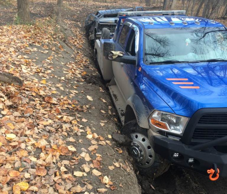 Offroad recovery
